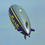 The Spirit of the South Pacific - Goodyear Blimp - at the Albury Airrport, 1999