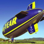 The Spirit of the South Pacific - Goodyear Blimp - Holbrook airfield, 1999