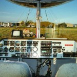 instrument Panel - the Spirit of the South Pacific - Goodyear Blimp, 1999