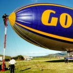 Tethered, the Spirit of the South Pacific - Goodyear Blimp, 1999