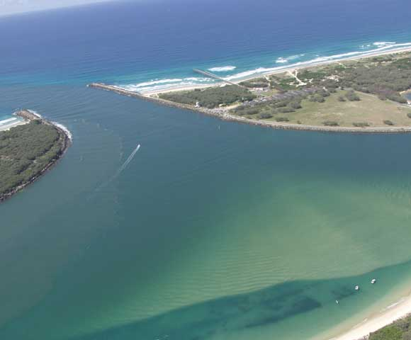 Aerial View, Gold Coast, 2002