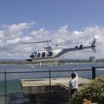 Helicopter Flights, Gold Coast, 2002.