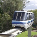 Mono Rail, Nara Resort, Sea World, 2002.