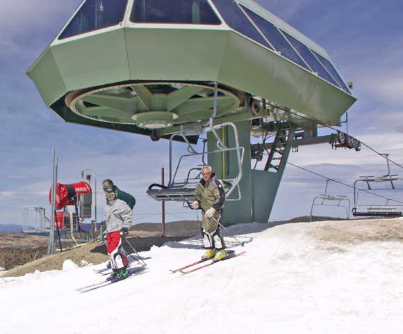 Ski Lift, Falls Creek, 2002