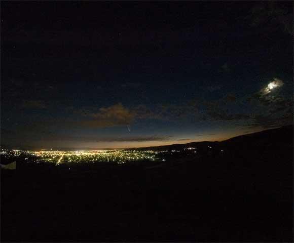 Comet McNaught, 23rd January 2007.