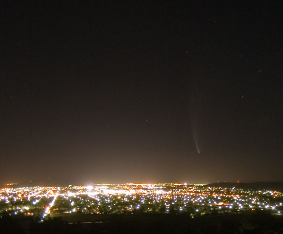 Comet McNaught, 24th January 2007.