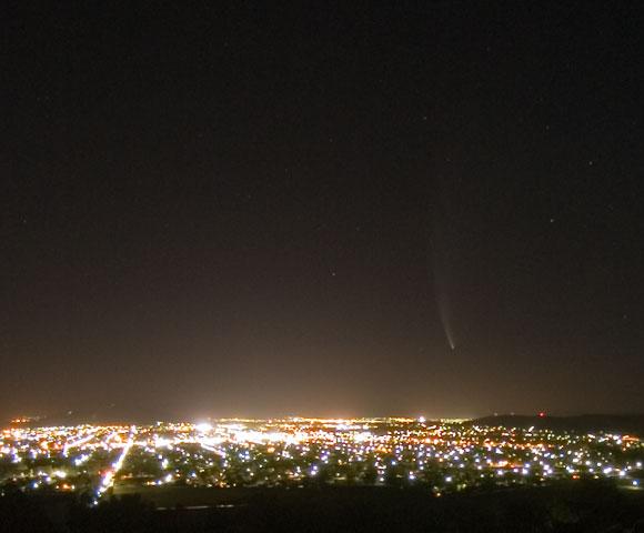 Comet McNaught, 24th January 2007.