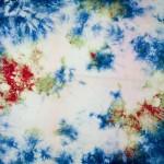 Beautiful Hand Dyed Shibori on Cotton