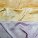 Tea and Lavender Hand Dyed Silks