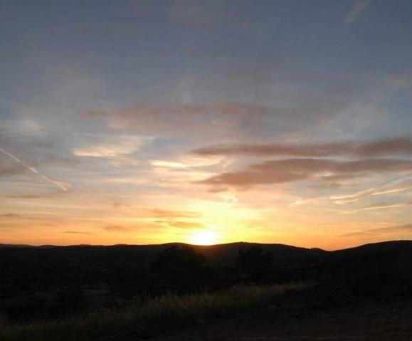 Sunset, November 23, 2004.