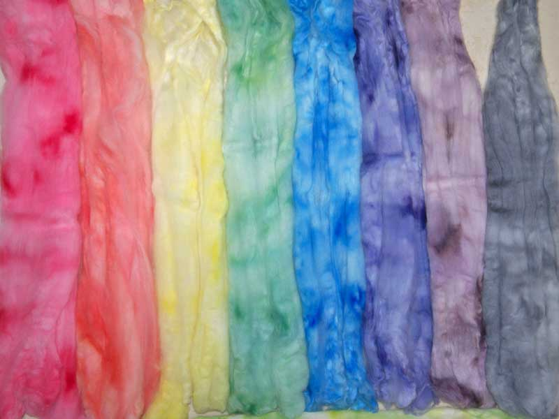 Wool Roving Spectrum