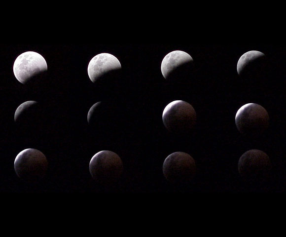 Blood Moon In Eclipse - 16th July, 2000